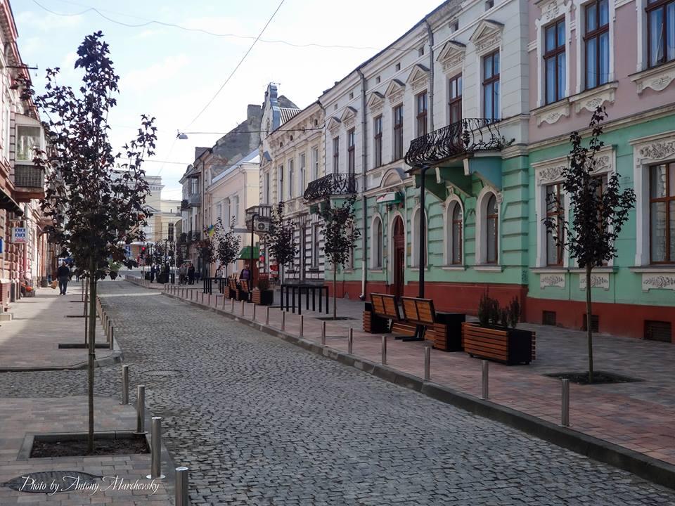 вулиця чорновола, фото, реконструкція, тернопільський тиждень