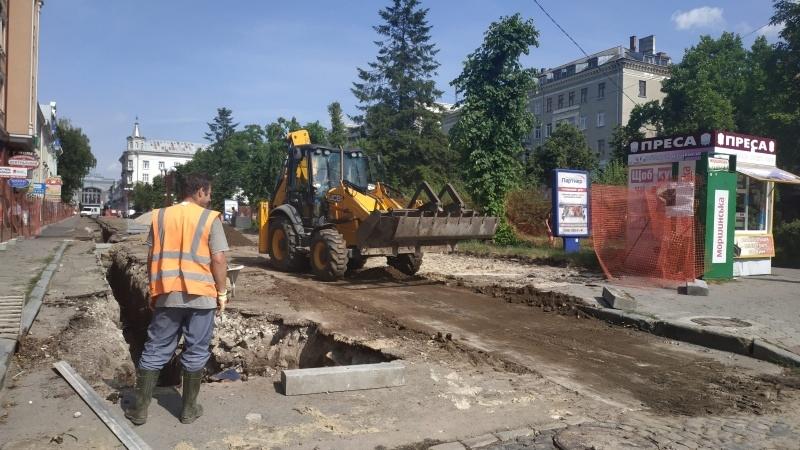реконструкція вул. В. Чорновола