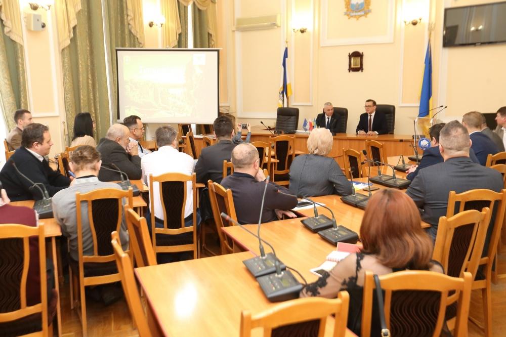 Польська делегація у Тернополі