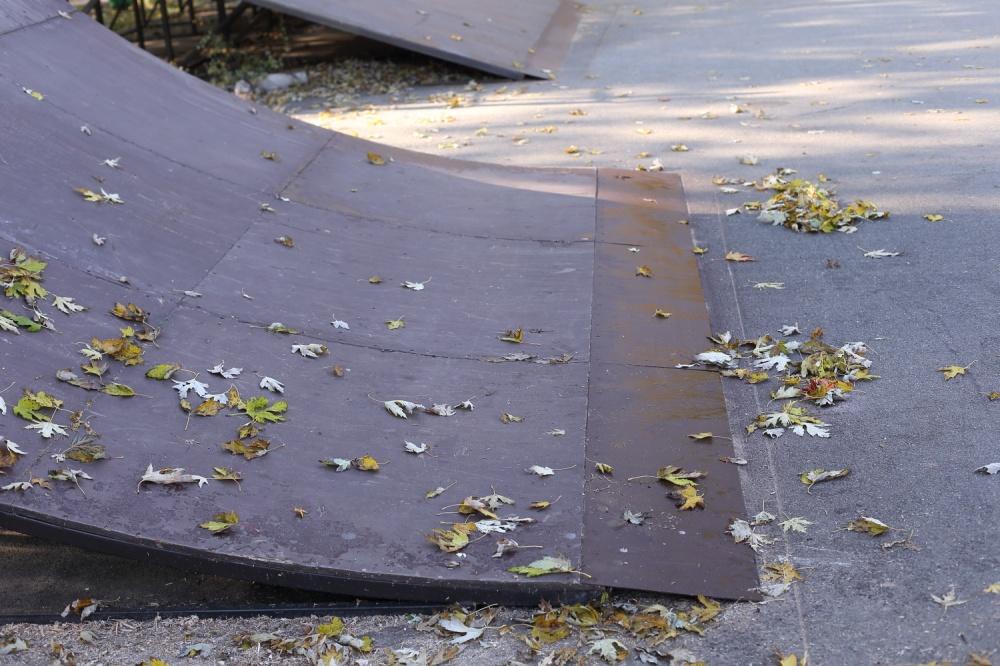 екстрим парк, тернопіль. ремонт, парк топільче, фото, тернопільський тиждень