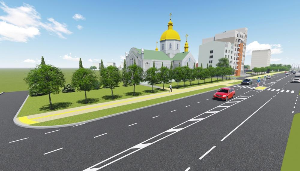 Тарнавського Тернопіль ескіз як виглядатиме дорога після ремонту