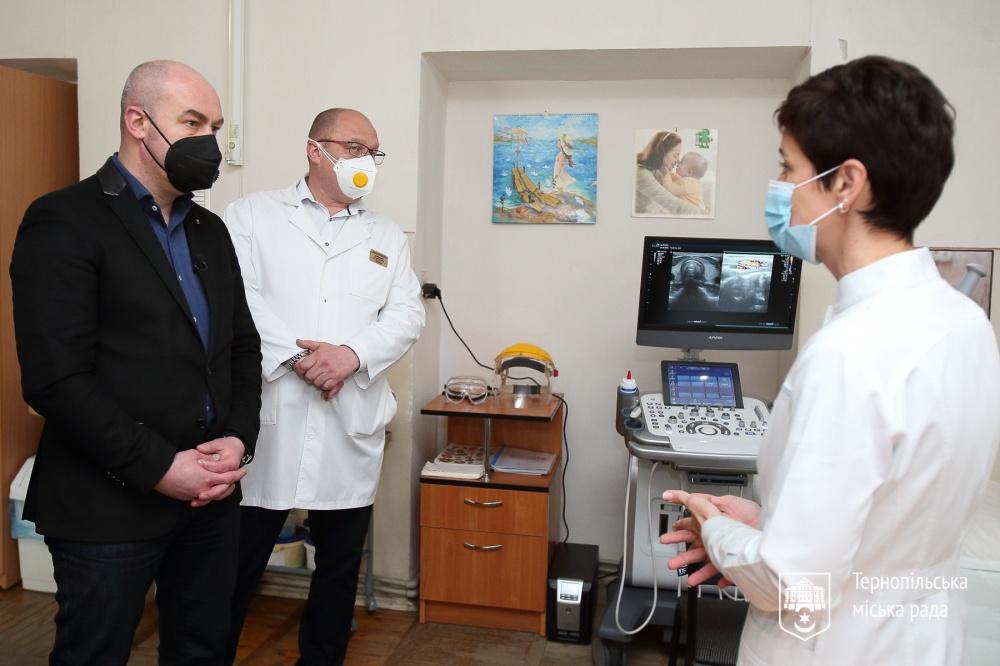 УЗД-апарат Тернопіль дитяча лікарня Сергій Надал