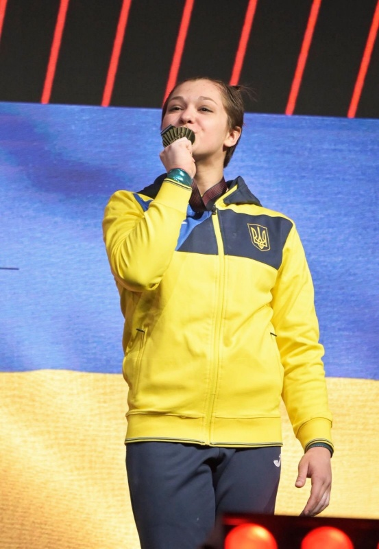 Анастасія Бачинська Тернопіль гімнастка