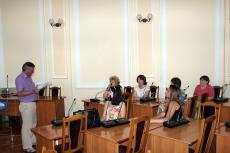 Відбулось перше засідання конкурсної комісії