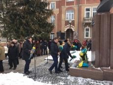 У Тернополі вшанували пам'ять Ярослава Стецька