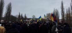 На межі Тернопільщини та Хмельниччини відзначили День Соборності України