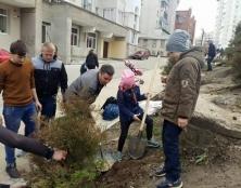 У Тернополі напередодні Дня довкілля депутати провели екологічну акцію