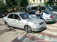 Інспекторами з паркування виявлено у Тернополі п'ять фактів протиправного використання державних номерних знаків автомобіля іншими особами