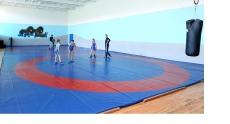 Оновлений спортивний комплекс для тренувань з вільної боротьби відкрили у тернопільській школі №23