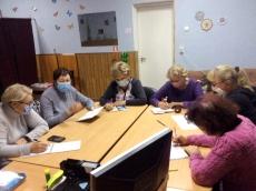 Графік проведення занять для людей похилого віку у Тернопільському міському територіальному центрі