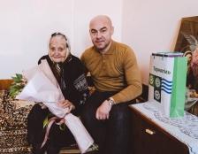Міський голова Сергій Надал привітав з 95-річчям тернополянку Ганну Теодорівну Загалюк
