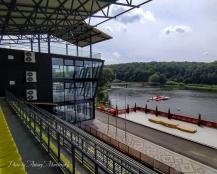 На «Водній арені Тернопіль» встановлюють нові буї та проводять благоустрій території