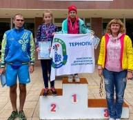 Тернопільські спортсмени стали переможцями на чемпіонаті України з акватлону