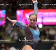 Тернопільська гімнастка Анастасія Бачинська - серед найкращих на чемпіонаті світу зі спортивної гімнастики