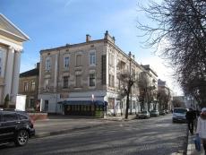 У Тернополі оновлюють фасад старовинного будинку