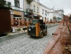 На вул. В'ячеслава Чорновола ведуться активні ремонтні роботи