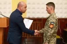 Сергій Надал привітав тернопільських артилеристів з поверненням додому із зони бойових дій