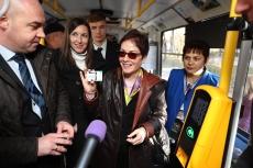Посол США в Україні позитивно оцінила впровадження електронного проїзного квитка у Тернополі