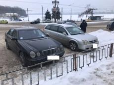 Впродовж трьох днів інспектори з паркування зафіксували у Тернополі 70 водіїв-порушників