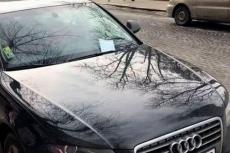 З початку лютого інспектори з паркування виписали 127 постанов