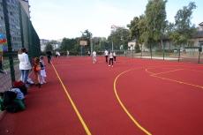 Новий спортивний майданчик відкрили на території тернопільської спеціалізованої школи №7
