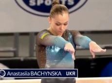 Анастасія Бачинська завоювала «бронзу» на етапі Кубка світу зі спортивної гімнастики