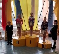 Тернопільська гімнастка здобула п'ять нагород на чемпіонаті України зі спортивної гімнастики