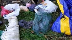 Муніципальна поліція спіймала браконьєрів зі сітками на Тернопільському ставі