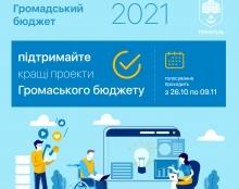 Триває голосування за проєкти «Громадського бюджету 2021» Тернопільської громади