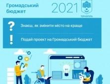 24 вересня відбудеться третє засідання Номінаційного комітету «Громадського бюджету 2021»
