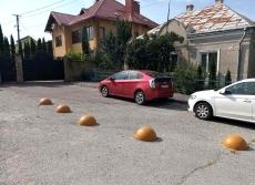У Тернополі на вул. Бережанській демонтовано технічні засоби регулювання дорожнього руху