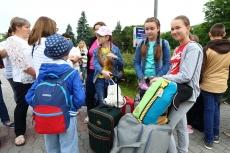 Діти з пільгових категорій населення відправилися на відпочинок у Затоку