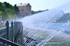 Графік роботи тернопільських фонтанів у липні