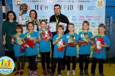Тернопільські третьокласники змагалися у спортивному фестивалі «Ігри патріотів-2019»