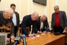 У Тернополі урочисто погасили марку, присвячену 180-річчю з Дня народження Володимира Лучаківського