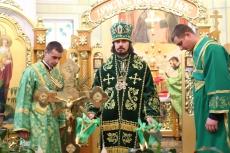 Вітання міського голови Сергія Надала Архієпископу Тернопільському і Кременецькому Нестору з тезоіменинами