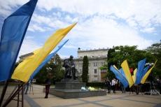 У Тернополі вшанували пам'ять Тараса Шевченка з нагоди 157-ої річниці перепоховання