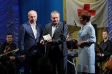 Очільник Тернополя привітав учасників Товариства Червоного Хреста України з нагоди 100-річчя організації
