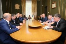 Сергій Надал зустрівся із делегацією з міста-побратима Батумі