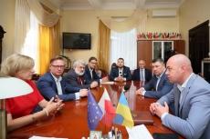 До Тернополя прибула офіційна польська делегація з міста-партнера Ельблонг