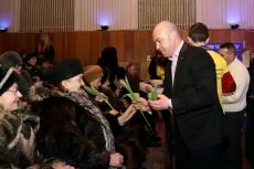 Сергій Надал привітав учасниць акції «Єднання поколінь» зі святом весни