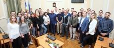 З нагоди Дня молоді Сергій Надал відзначив молодіжних активістів подяками і цінними подарунками
