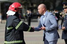 Сергій Надал відзначив кращих  тернопільських рятівників з нагоди професійного свята