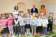 У Тернопільському дитячому садку №25 відкрили три повноцінні групи