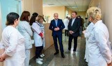 Для потреб Тернопільської міської лікарні № 2 закуплено новий м'який інвентар