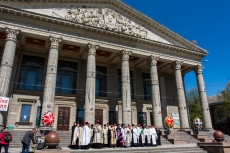 22 квітня у Тернополі молилися за Україну та за створення єдиної помісної Церкви