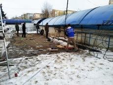 У Тернополі триває демонтаж літніх майданчиків