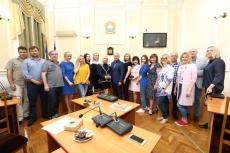 Міський голова нагородив тернопільських представників ЗМІ з нагоди Дня журналіста