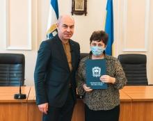 Міський голова Сергій Надал нагородив переможців міських конкурсів «Різдвяне диво» та «Феєрія новорічного міста»