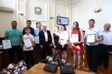Сергій Надал нагородив тернопільських спортсменів за чергові перемоги у всеукраїнських змаганнях